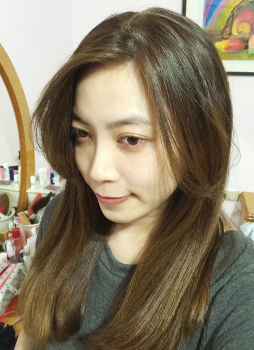 PLUUS 南西店-設計師NICK-媽媽的簡單清爽內彎直髮-外捲瀏海 (35)