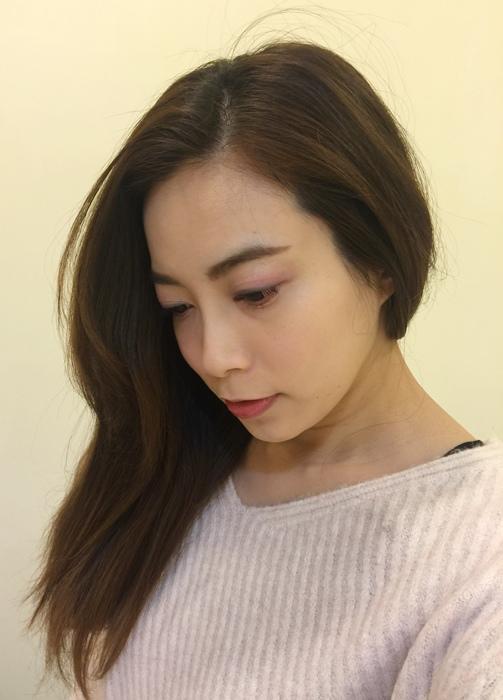 PLUUS 南西店-設計師NICK-媽媽的簡單清爽內彎直髮-外捲瀏海 (43)