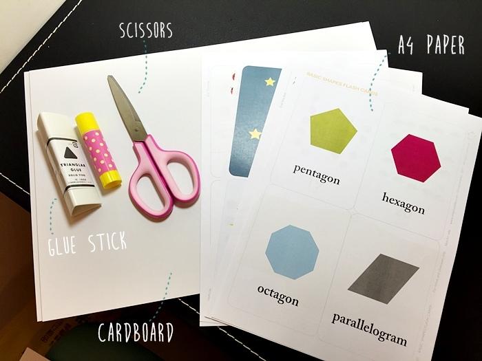 DIY自己動手做寶寶認知閃卡字卡數字卡圖片卡顏色卡-可愛閃卡下載網站 (3)