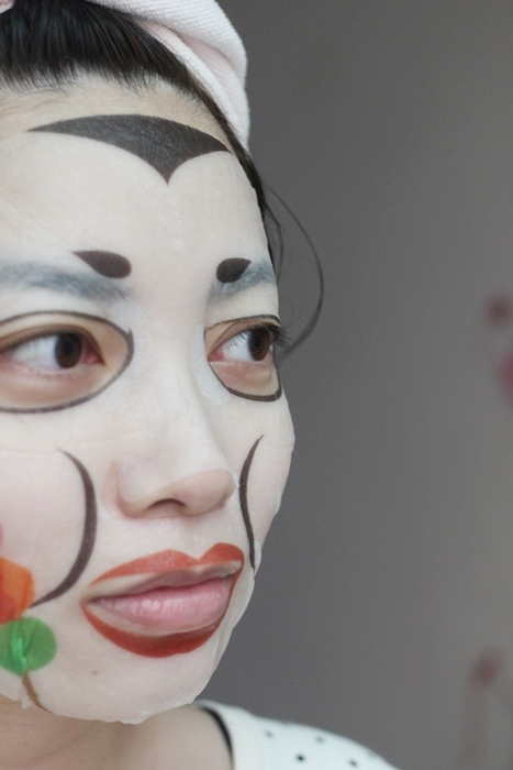日本Pure Smile美味護唇膏-爆米花玉米濃湯鬆餅焦糖蘋果派法國奶油麵包烤番薯-Choosy唇膜護唇膜-巧克力唇膜-薄荷巧克力唇膜-大冒險派對用超有趣日本面具面膜-舞姬面膜忍者面膜戰國面膜創意面膜Art Mask (200)