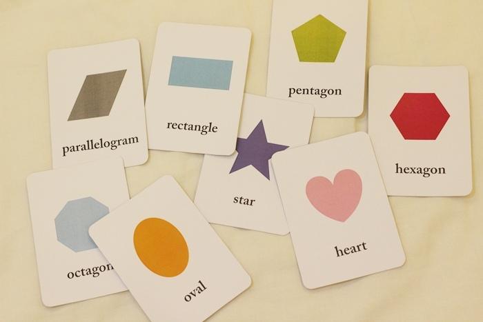 DIY自製寶寶閃卡字卡圖案卡顏色卡數字卡認知卡-含圖片下載 (5)
