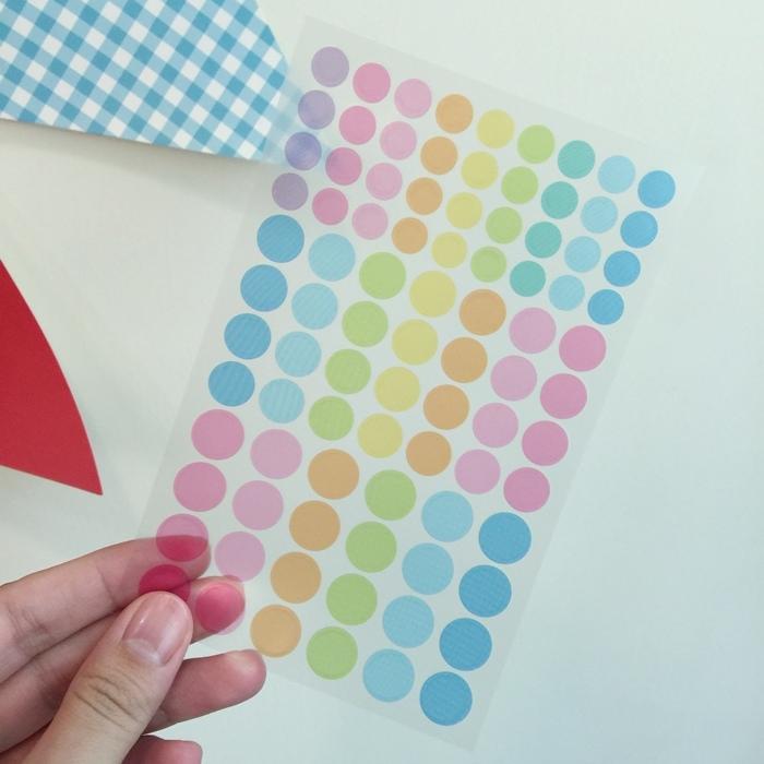 大創文具-Daiso-文青螢光筆-三角形口紅膠-手帳圓點貼紙-北極熊索引貼-黑板膠-三色粉筆 (20)