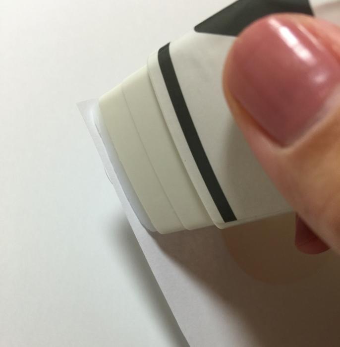 大創文具-Daiso-文青螢光筆-三角形口紅膠-手帳圓點貼紙-北極熊索引貼-黑板膠-三色粉筆 (24)