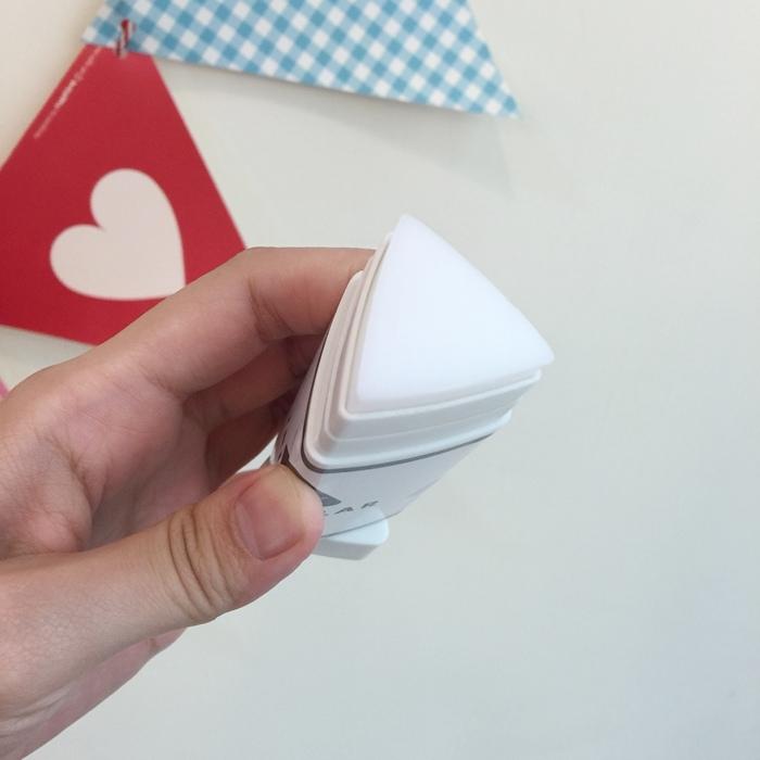 大創文具-Daiso-文青螢光筆-三角形口紅膠-手帳圓點貼紙-北極熊索引貼-黑板膠-三色粉筆 (18)