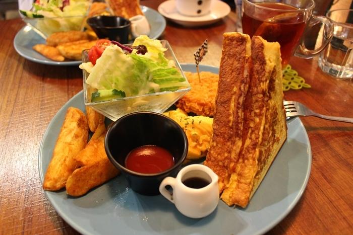 板橋早午餐brunch野豬核桃府中站後站商圈板橋外站 (2)