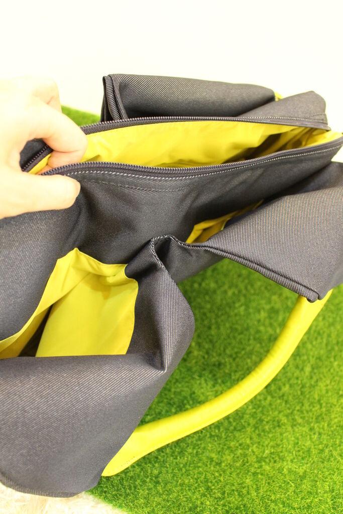 lassig 德國時尚丹寧托特媽媽包-環保回收材質-分層隔層尿布墊奶瓶保溫袋推車掛勾 (24)