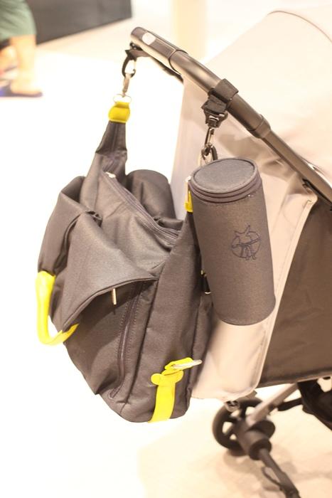 lassig 德國時尚丹寧托特媽媽包-環保回收材質-分層隔層尿布墊奶瓶保溫袋推車掛勾 (134)
