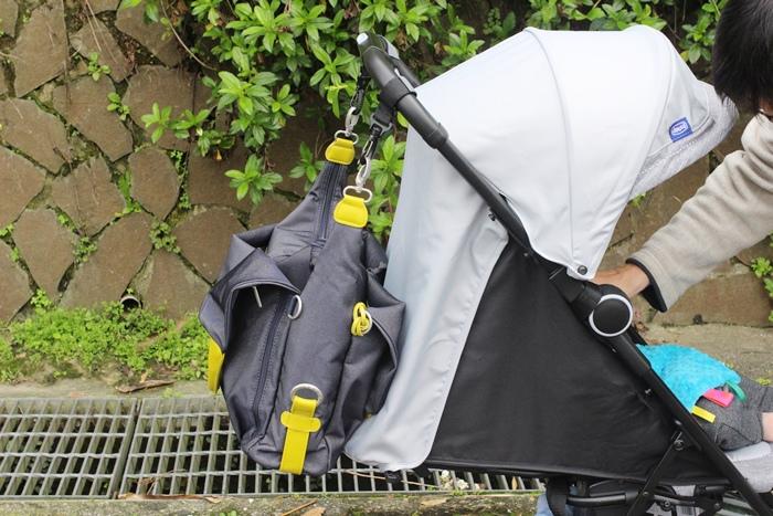 lassig 德國時尚丹寧托特媽媽包-環保回收材質-分層隔層尿布墊奶瓶保溫袋推車掛勾 (69)