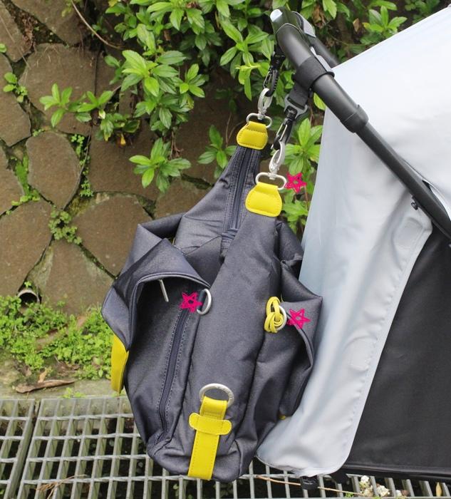 lassig 德國時尚丹寧托特媽媽包-環保回收材質-分層隔層尿布墊奶瓶保溫袋推車掛勾 (70)