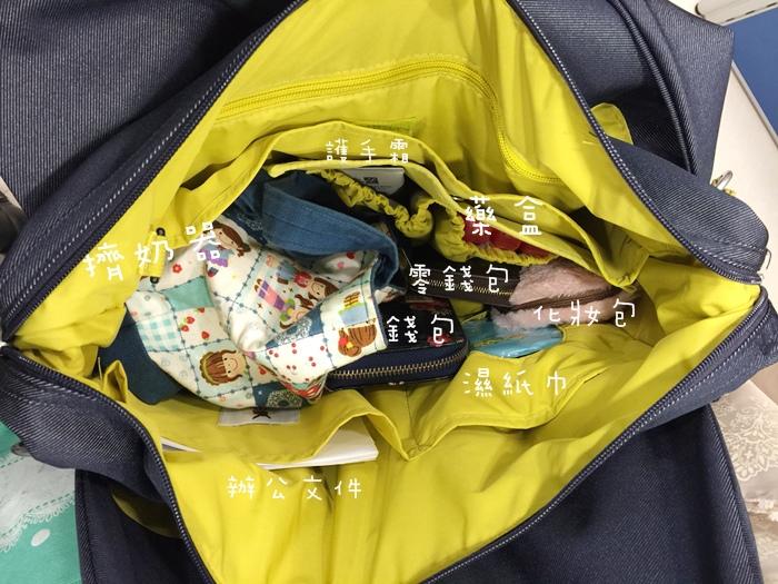 lassig 德國時尚丹寧托特媽媽包-環保回收材質-分層隔層尿布墊奶瓶保溫袋推車掛勾 (104)