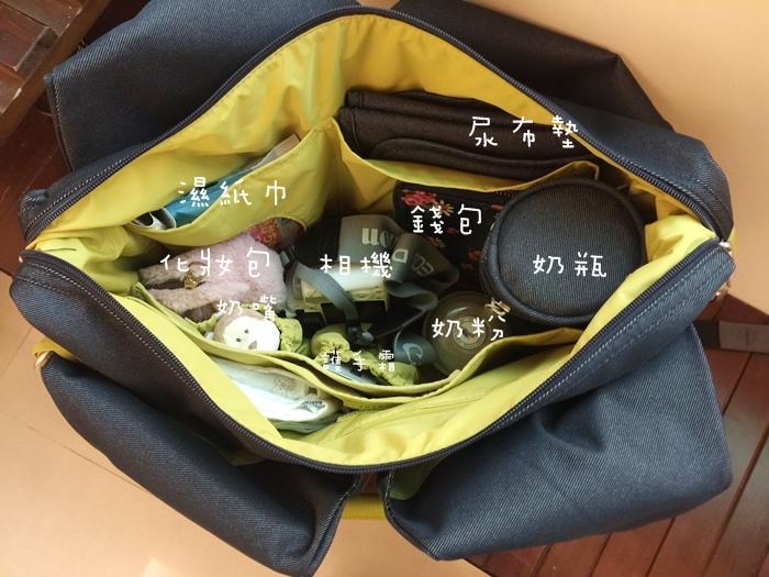 lassig 德國時尚丹寧托特媽媽包-環保回收材質-分層隔層尿布墊奶瓶保溫袋推車掛勾 (110)