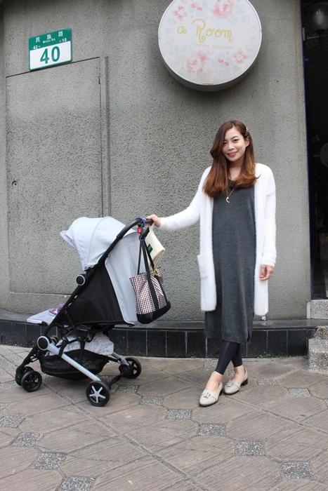 Miinimo Chicco推車嬰兒推車娃娃車-出遊旅行出國可攜帶上高鐵後車廂行李架-隋棠代言推車 (13)