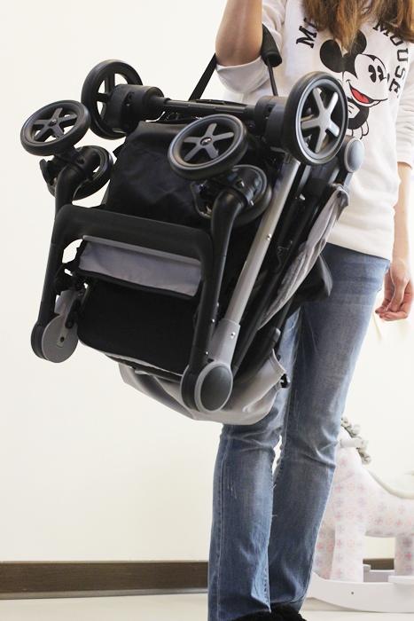 Miinimo Chicco推車嬰兒推車娃娃車-出遊旅行出國可攜帶上高鐵後車廂行李架-隋棠代言推車 (109)