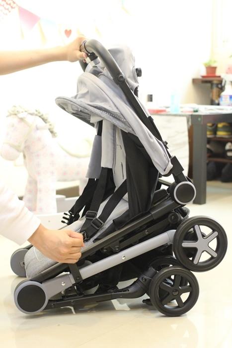 Miinimo Chicco推車嬰兒推車娃娃車-出遊旅行出國可攜帶上高鐵後車廂行李架-隋棠代言推車 (118)