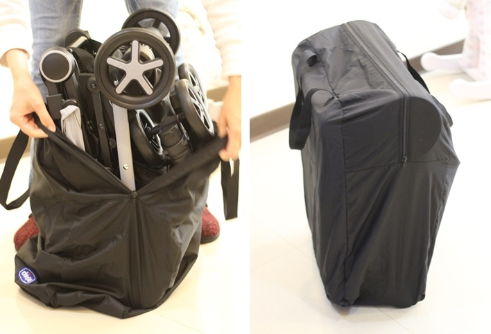 miinimo Chicco推車嬰兒推車娃娃車-出遊旅行出國可攜帶上高鐵後車廂行李架-隋棠代言推車 (1m)