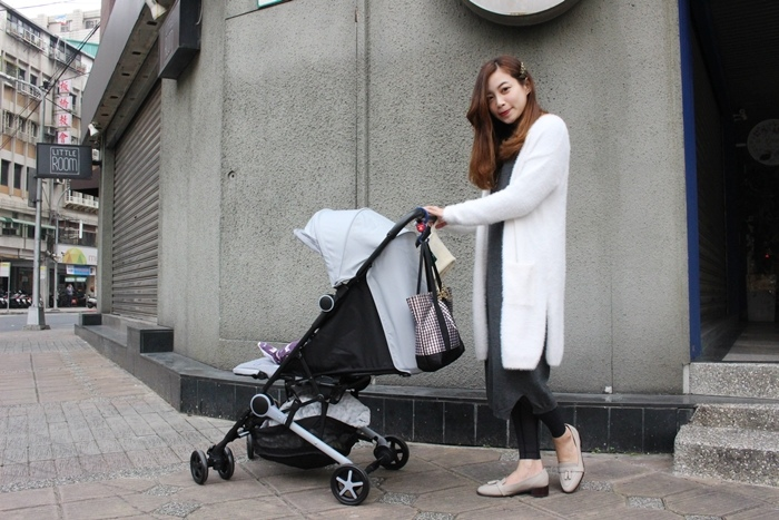 Miinimo Chicco推車嬰兒推車娃娃車-出遊旅行出國可攜帶上高鐵後車廂行李架-隋棠代言推車 (16)