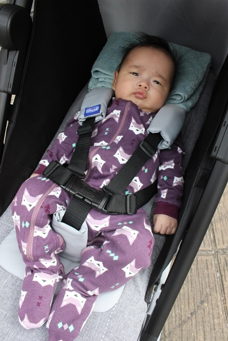 Miinimo Chicco推車嬰兒推車娃娃車-出遊旅行出國可攜帶上高鐵後車廂行李架-隋棠代言推車 (7)