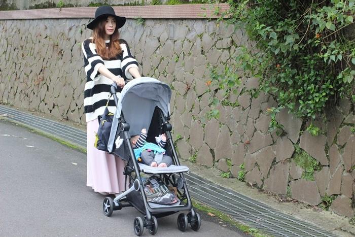 Miinimo Chicco推車嬰兒推車娃娃車-出遊旅行出國可攜帶上高鐵後車廂行李架-隋棠代言推車 (36)