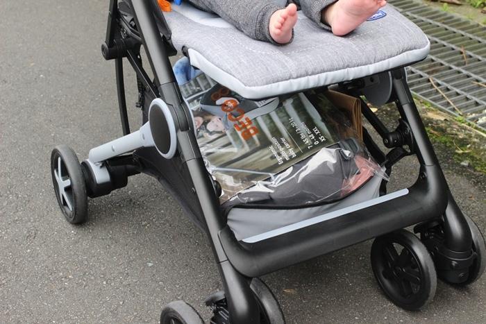 Miinimo Chicco推車嬰兒推車娃娃車-出遊旅行出國可攜帶上高鐵後車廂行李架-隋棠代言推車 (47)