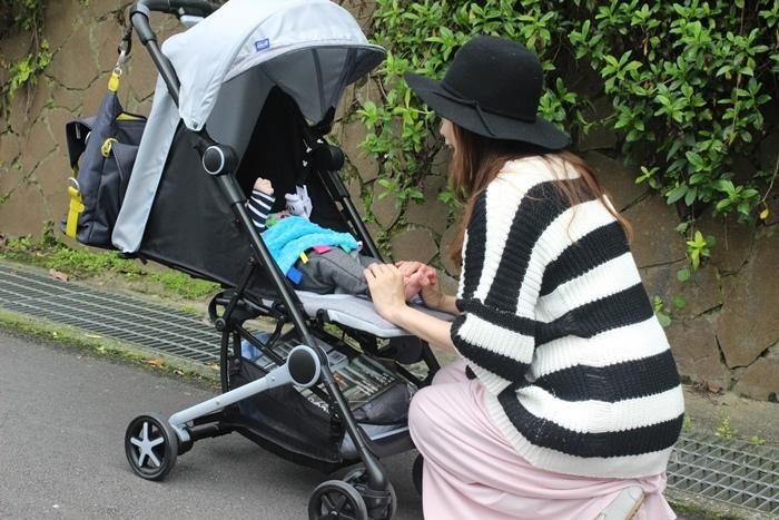 Miinimo Chicco推車嬰兒推車娃娃車-出遊旅行出國可攜帶上高鐵後車廂行李架-隋棠代言推車 (46)