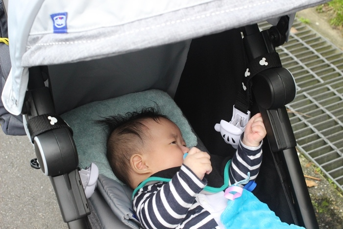 Miinimo Chicco推車嬰兒推車娃娃車-出遊旅行出國可攜帶上高鐵後車廂行李架-隋棠代言推車 (58)