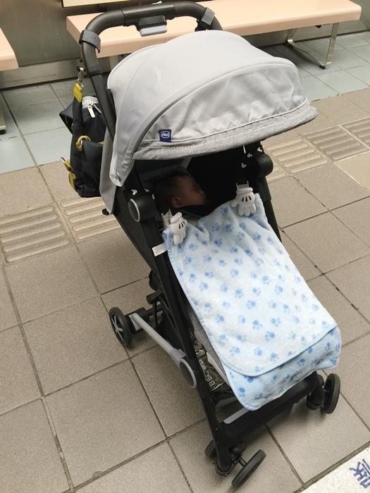 Miinimo Chicco推車嬰兒推車娃娃車-出遊旅行出國可攜帶上高鐵後車廂行李架-隋棠代言推車 (73)