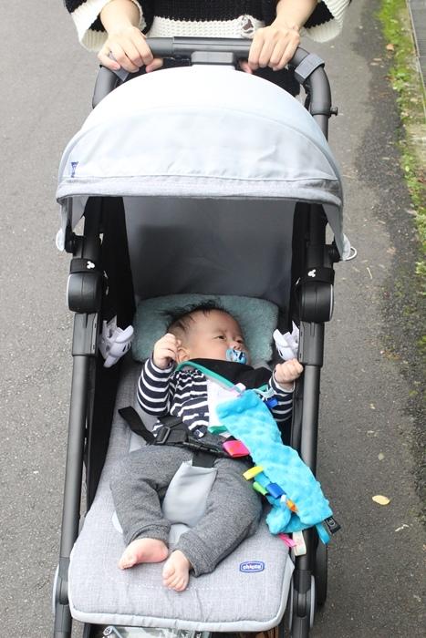 Miinimo Chicco推車嬰兒推車娃娃車-出遊旅行出國可攜帶上高鐵後車廂行李架-隋棠代言推車 (60)