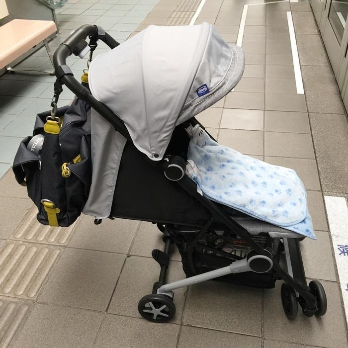Miinimo Chicco推車嬰兒推車娃娃車-出遊旅行出國可攜帶上高鐵後車廂行李架-隋棠代言推車 (74)