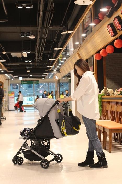 Miinimo Chicco推車嬰兒推車娃娃車-出遊旅行出國可攜帶上高鐵後車廂行李架-隋棠代言推車 (83)