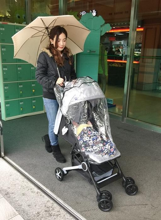 Miinimo Chicco推車嬰兒推車娃娃車-出遊旅行出國可攜帶上高鐵後車廂行李架-隋棠代言推車 (77)