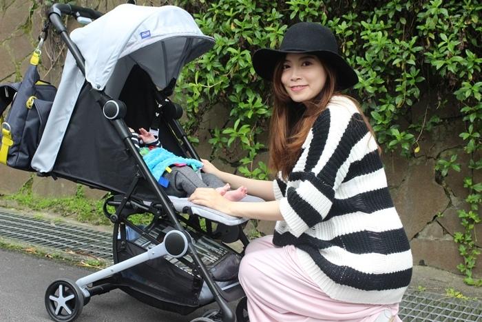 Miinimo Chicco推車嬰兒推車娃娃車-出遊旅行出國可攜帶上高鐵後車廂行李架-隋棠代言推車 (44)