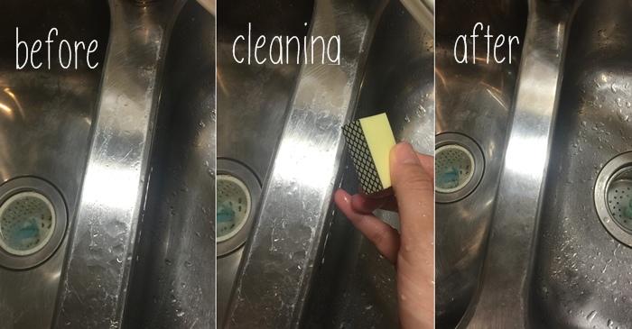 Daiso 大創好物 玻璃鏡面水垢汙垢清潔海綿-鑽石海綿 39元均一 浴室清潔 (111)