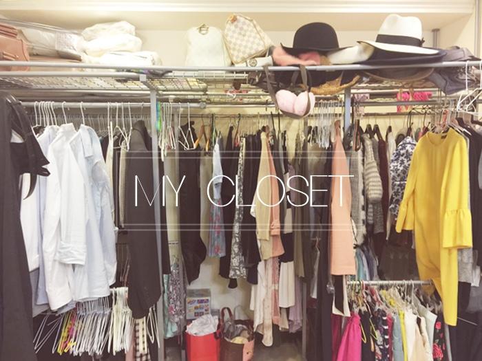 更衣間衣櫃衣服的斷捨離與無印良品風的收納日常-morning cleaning-小寶寶的衣服收納 (1)