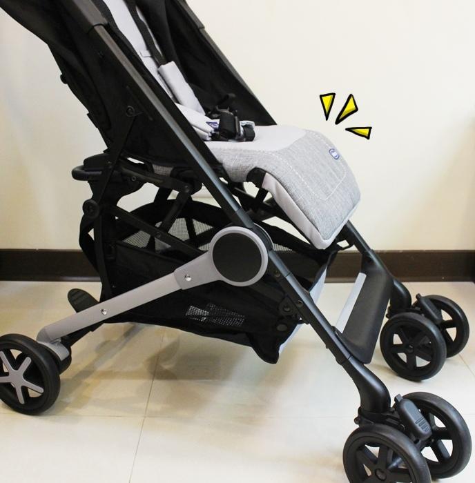 Miinimo Chicco推車嬰兒推車娃娃車-出遊旅行出國可攜帶上高鐵後車廂行李架-隋棠代言推車 (157)