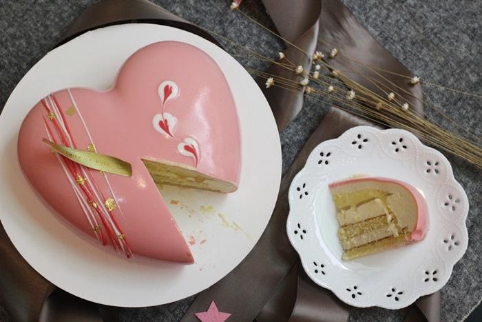 boite de bijou-珠寶盒法式點心坊-蛋糕-2017母親節蛋糕-心心相繫 檸檬茉莉花 (109)