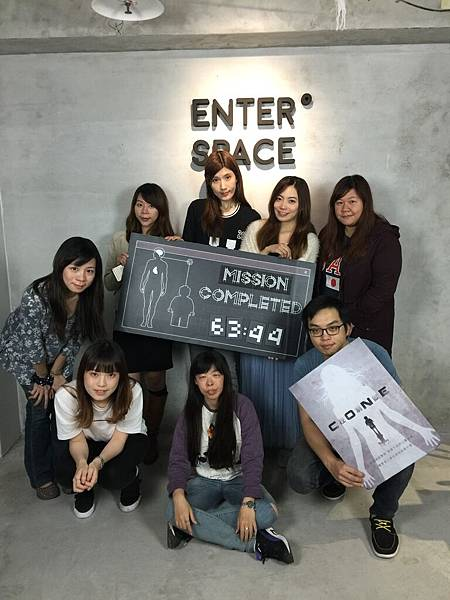 CONE 控制獄 真人實境密室逃脫遊戲心得 樂高人冒險 VR裝置體驗 enter space escape cafe 咖啡實驗室 可可實驗組 (1244)