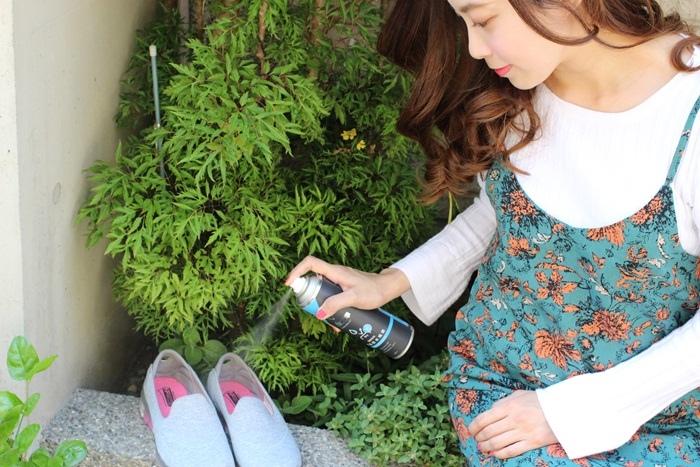 防御工事-鞋類布面透氣防水噴霧-防霉防潑水雨天必備-銀離子除臭制菌噴霧 (122)
