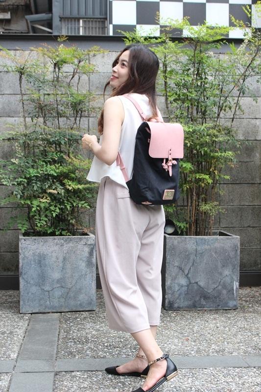 Gaston Luga Backpacks 瑞典設計師 後背包 粉紅色皮革後背包 折扣碼lulula 15%折扣 LululaSu15 (8)