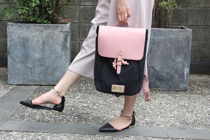 Gaston Luga Backpacks 瑞典設計師 後背包 粉紅色皮革後背包 折扣碼lulula 15%折扣 LululaSu15 (15)