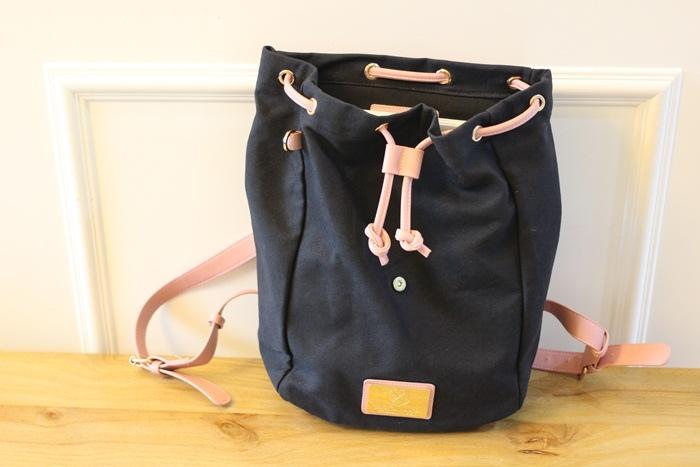 Gaston Luga Backpacks 瑞典設計師 後背包 粉紅色皮革後背包 折扣碼lulula 15%折扣 LululaSu15 (38)