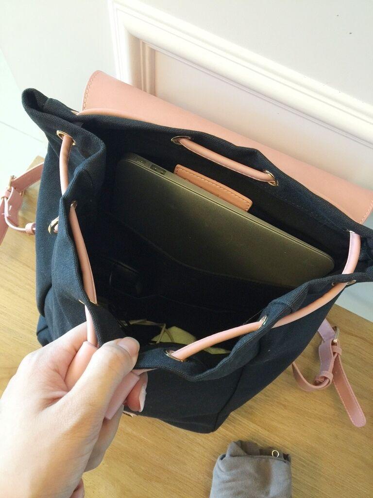 Gaston Luga Backpacks 瑞典設計師 後背包 粉紅色皮革後背包 折扣碼lulula 15%折扣 LululaSu15 (1)