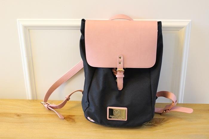 Gaston Luga Backpacks 瑞典設計師 後背包 粉紅色皮革後背包 折扣碼lulula 15%折扣 LululaSu15 (37)