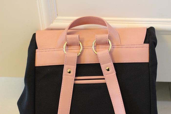 Gaston Luga Backpacks 瑞典設計師 後背包 粉紅色皮革後背包 折扣碼lulula 15%折扣 LululaSu15 (35)