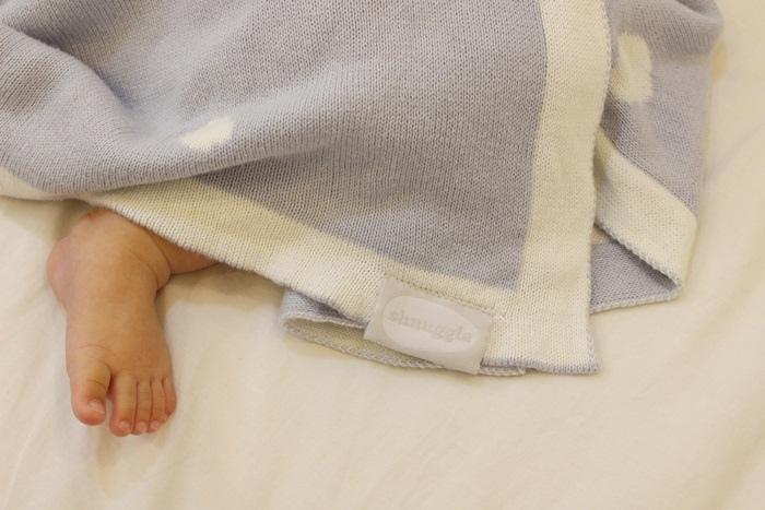Shnuggle 舒芙蕾寶寶毯四季毯針織毯luxury knitted blanket-BumGo外出包尿布包 (85)