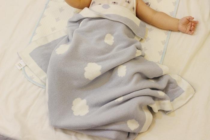 Shnuggle 舒芙蕾寶寶毯四季毯針織毯luxury knitted blanket-BumGo外出包尿布包 (83)