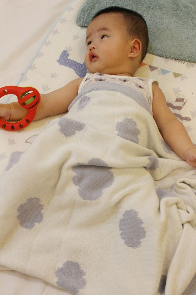 Shnuggle 舒芙蕾寶寶毯四季毯針織毯luxury knitted blanket-BumGo外出包尿布包 (94)