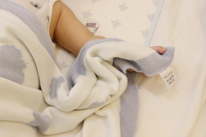 Shnuggle 舒芙蕾寶寶毯四季毯針織毯luxury knitted blanket-BumGo外出包尿布包 (99)
