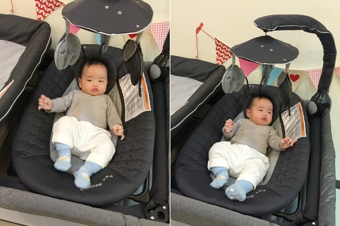 Chicco Lullaby Dream多功能豪華遊戲床-翻滾嬰兒的救星 (991111)
