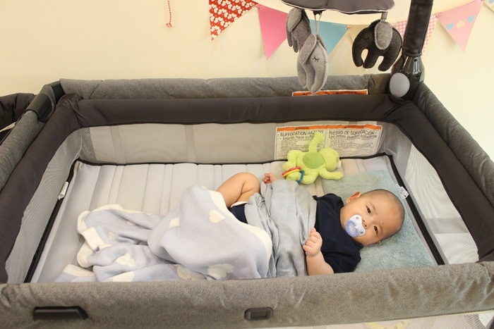 Chicco Lullaby Dream多功能豪華遊戲床-翻滾嬰兒的救星 (57)