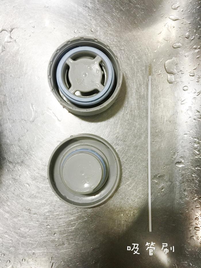 打造你的簡單生活 德國流整理術掃除法 保溫杯清潔方法 檸檬酸吸管刷實用 (6)